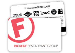 Big Red F Gift Cards